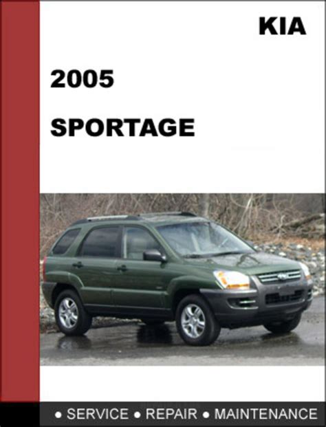 kia sportage 2005 oem service repair manual download download man