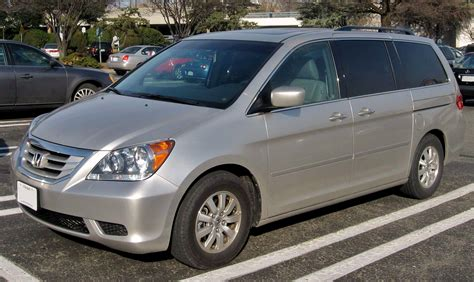 2008 Honda Odyssey Unveiled With 2008 Honda Odyssey Information And Photos Zombiedrive
