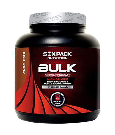Suplemen Sixpack six pack nutrition bulk 4 kg buy six pack nutrition bulk