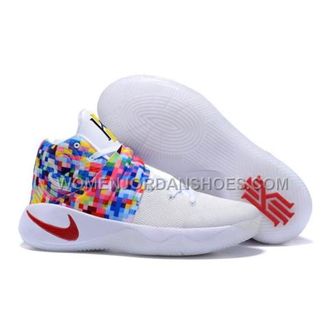nike basketball shoes sale 2016 discount nike kyrie 2 sneakers white rainbow
