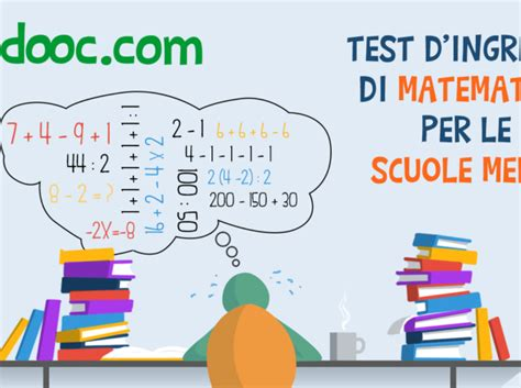 test di ingresso prima media matematica home redooc