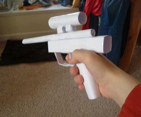 How To Make A Paper Wars Gun - wars pistol all