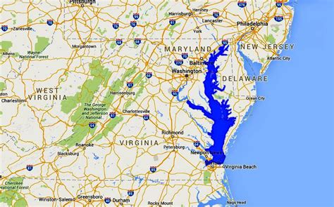 maryland map chesapeake bay maps of the chesapeake bay rivers and access points