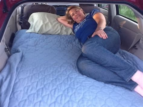 how to sleep in your car comfortably habitents the toyota prius cer toyota prius forum