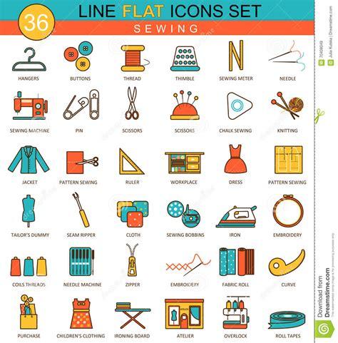 web design icon kit tailoring icon set stock photography cartoondealer com
