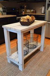 diy kitchen island cart diy kitchen island ideas and tips