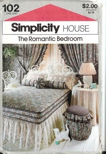Sewing Ideas For Home Decorating Simplicity Bedroom Bedding Bed Home Decor Accessories Sewing Pattern Ebay