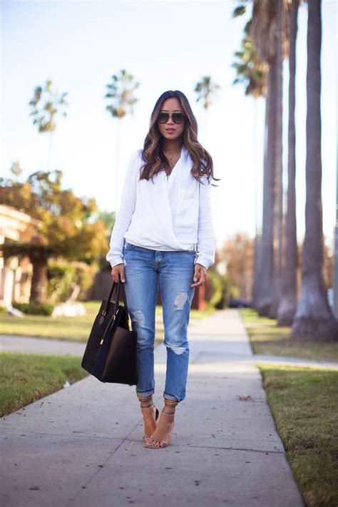 White Song Shirt jean and white shirt custom shirt