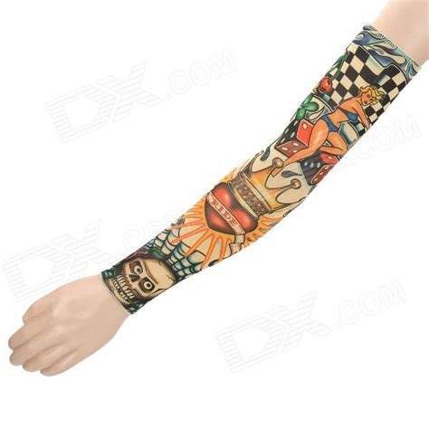pattern tattoo oversleeve unique tattoo design nylon spandex oversleeve