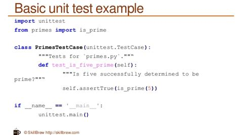 python tutorial unit testing your code with the unittest python programming essentials m39 unit testing