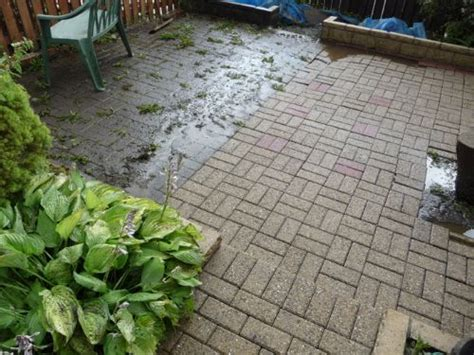 Cleaning Algae From Patio by Pressure Wash Glasgow Driveway Cleaning Company In
