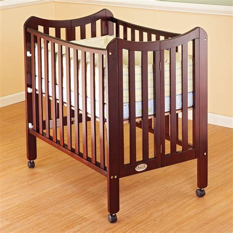 Portable Mini Cribs Orbelle Tian Two Level Mini Portable Crib Cribs At Hayneedle
