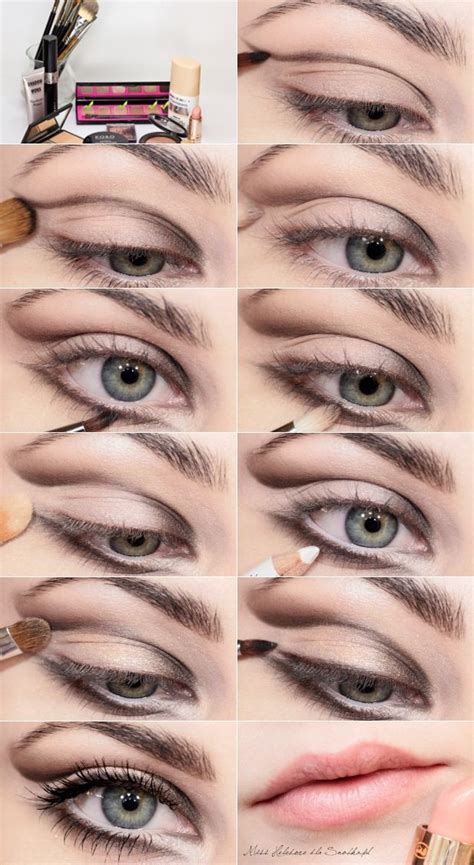 eyeliner tutorial brush 40 amazing smokey eyes makeup tutorials brush set eye