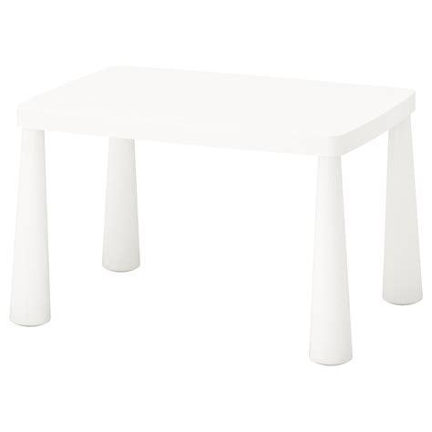 mammut table enfant int 233 rieur ext 233 rieur blanc 77x55 cm ikea