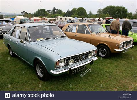vintage cars 1960s a vintage 1960s ford cortina mk2 cars stock photo