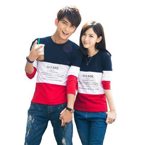 Kaos Oblong Baju Pasangan Kembar Putih 9990 kaos murah jual kaos grosir kaos newhairstylesformen2014