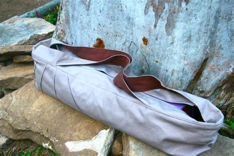 easy yoga bag sewing pattern quot no coffee no prana quot yoga mat bag sewing projects