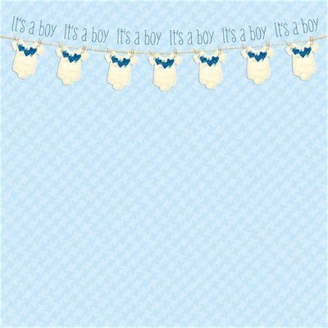 How To Make A Paper Baby - baby boy scrapbook paper scrapbooking ideas