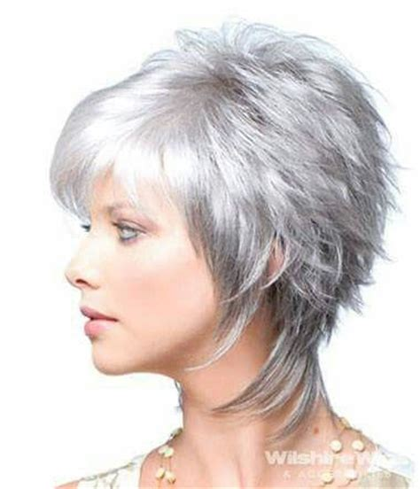 Medium Gray With Black Spike Shaggy Hairstyles | 25 unique mom haircuts ideas on pinterest cute mom