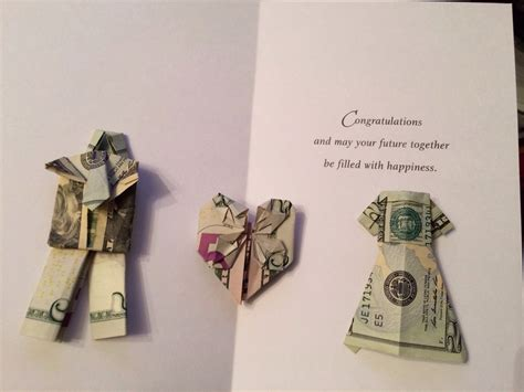 wedding money gift origami money wedding gift wedding origami gift and money creation