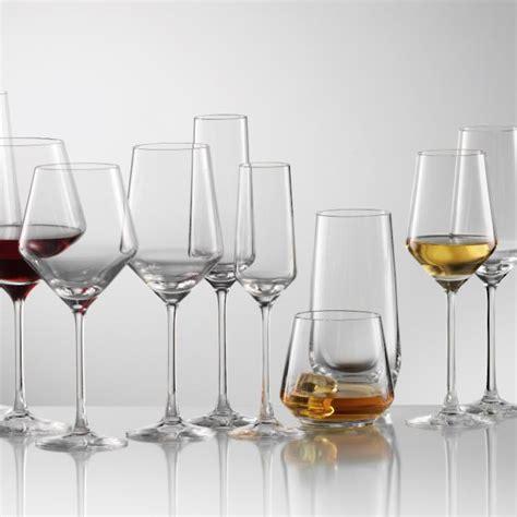 crystal barware schott zwiesel pure crystal glassware frontgate