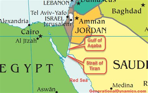 middle east map gulf of aqaba saudi arabia to build bridge where moses parted the