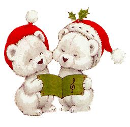 christmas bear graphic animated gif graphics christmas