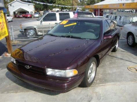 impala ss specs 1996 chevrolet impala ss data info and specs gtcarlot