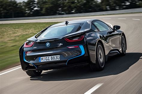 bmw supercar new bmw i8 hybrid sports car priced from 135 700 in u s
