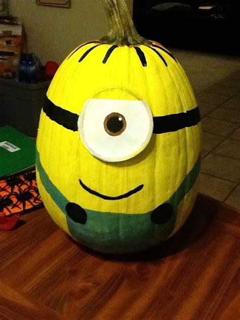 pumpkin minion minions pinterest