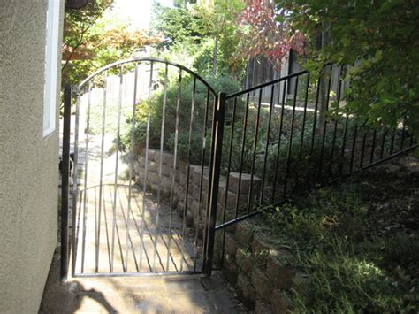 Iron Garden Gates by Iron Garden Gates Sacramento Wrought Iron Garden Gate