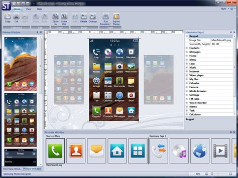 samsung themes photo samsung theme designer download