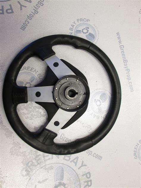 dino boat steering wheel 13 5 quot dino bayliner capri u s marine boat sport style