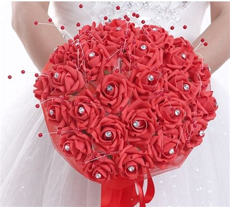 Discount Bridal Bouquets by Get Cheap Big Wedding Bouquets Aliexpress