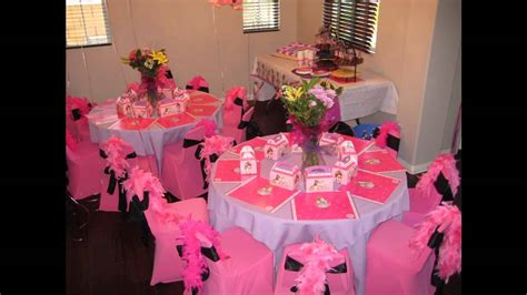 at home table birthday decoration ideas