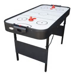 Folding Air Hockey Table Gamesson 4ft Shark White Folding Air Hockey Table 712 1038