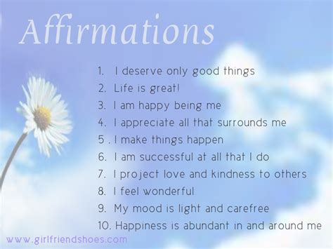 printable affirmations quotes free printable daily affirmations
