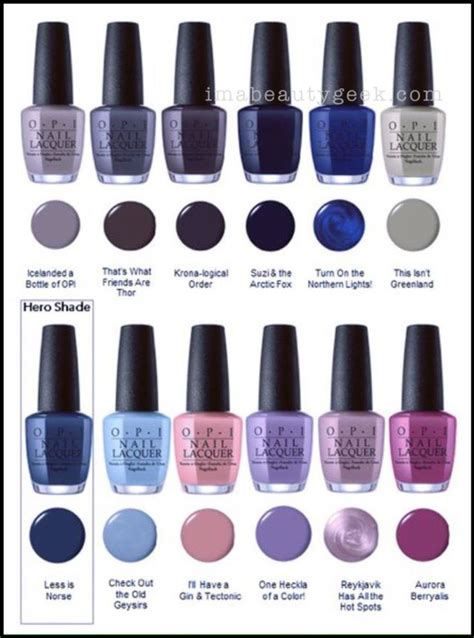opi fall colors the 25 best fall nail colors 2017 ideas on