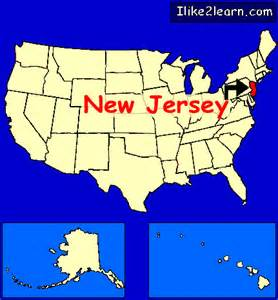 united states map new jersey new jersey