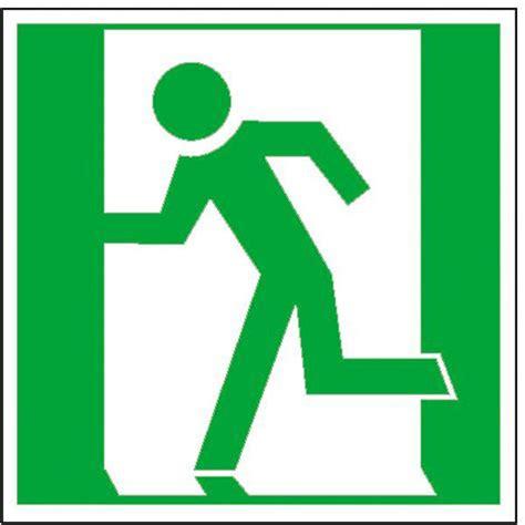 marquage du sol chemin de fuite symbole internationale