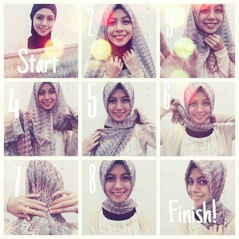 tutorial jilbab nabiilabee turkish hijab style step by step hijab tutorials