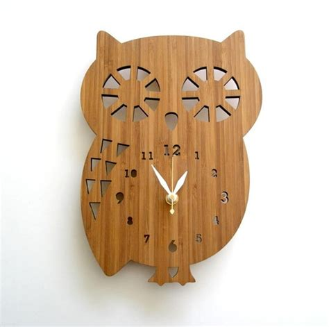Design Clock by Wooden Clock Ideas With Animal Themed Home Design And