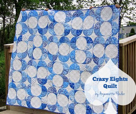 Eights Quilt Pattern by Free Pattern Eights Quilt By Anjeanette For Pellon