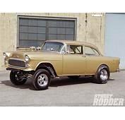 1955 Chevy Gasser Classic Cars Hot Rod Drag Racing Wallpaper