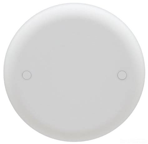 ceiling fan cover plate carlon cpc4wh ceiling fan box cover round blank 4 inch