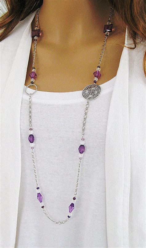 beaded chain necklace 1000 ideas about chunky chain necklaces on