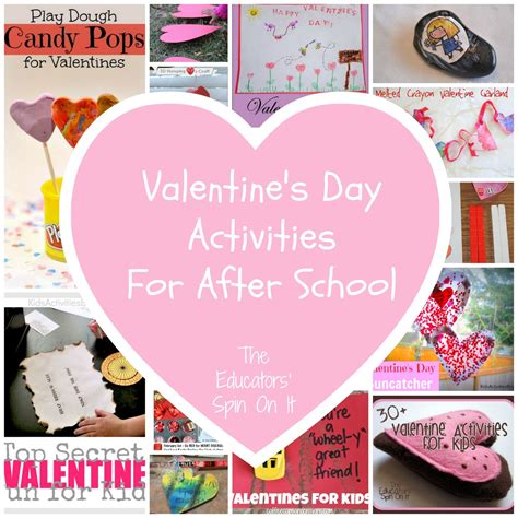 valentines day ideas school last minute s day ideas the educators spin on it
