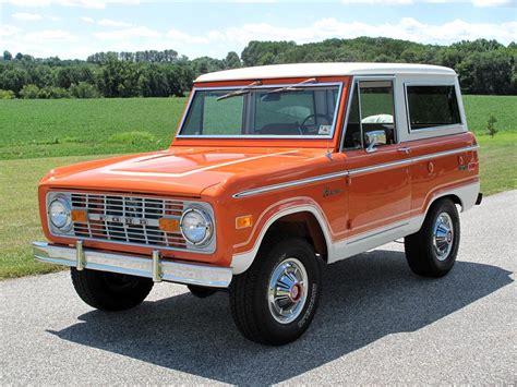 bronco car 1974 ford bronco suv 116420