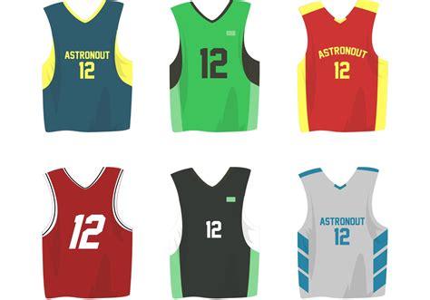 desain jersey basket vektor basketball sports jersey vectors download free vector
