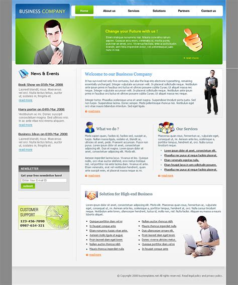 simple business website templates website templates simple for business companies